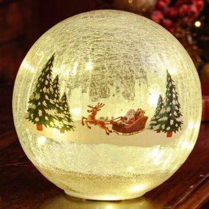 Better Living Deco Ball LED Santa Sleigh Ball